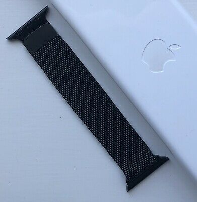 *SALE PRICE* New Apple Watch Stainless Steel Space Black Milanese Loop - 38/40mm