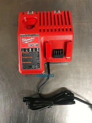 Brand New Milwaukee 48-59-1812 18V 18 Volt M12 / M18 Lithium Ion Charger