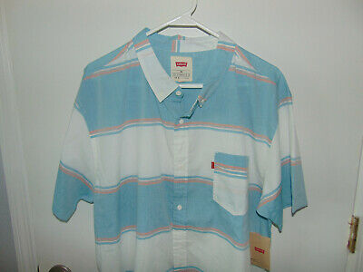 Levi's Mens Button Down Short Sleeve Shirt     Size  XXL    NWT