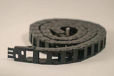 IGUS Energy Drag Chain Cable Carrier and Mounts  Z14-2-038 Easy Fill 5 Feet Long