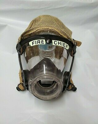 """AV-2000 SCBA Scott Pack Mask With Comfort Seal, Large, """"Fire Chief"""""""