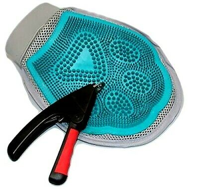 Wowzer Pet - Grooming, = Clippers and Massaging Pet Glove with clippers  NEW
