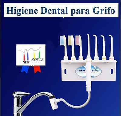 IRRIGADOR CEPILLO DENTAL de GRIFO LIMPIAR DIENTES Higiene Oral BUCAL Portatil