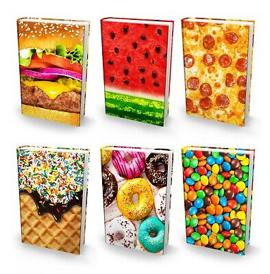 Book Sox Stretchable Book Cover: Jumbo Eats N Treats Value Pack of 6