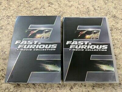 Fast and Furious 7 Movie Collection (DVD)