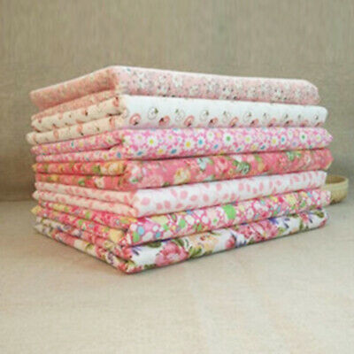 7PCS Lot 50*50cm Fabric Bundle Cotton Quilting Patchwork Sewing Tissue Cloth