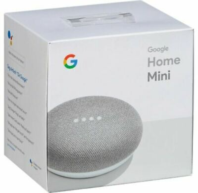 Google Home Mini Smart Assistant - Chalk / Brand New and Sealed UK STOCK