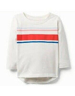 NWT Gymboree Toddler/Baby Boys Striped Long Sleeve T-Shirt (133) MSRP $19.50