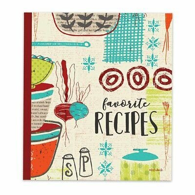 Brownlow Gifts Recipe Binder Set with Plastic Page Protectors and Recipe...