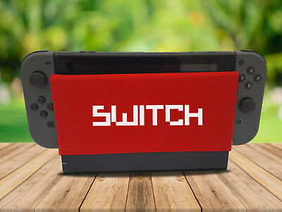 Switch - Nintendo Switch Dock Sock Cover Retro Gaming Screen Handmade