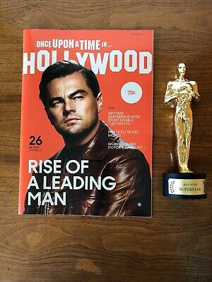 Once Upon a Time in Hollywood Memorabilia Magazine Brad Pitt Leonardo DiCaprio