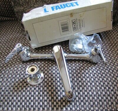 "B&K 6"" Commercial wall faucet NEW please READ"
