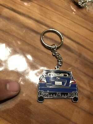 Subaru Motorsports USA Logo Keychain Lanyard Rally Official Racing WRX STi Team