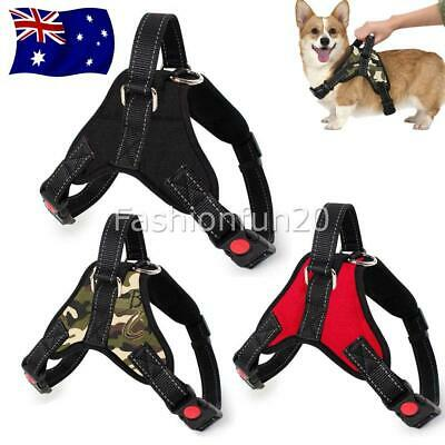 Adjustable Dog Harness No-pull Soft Breathe Outdoor Pet Cat Vest Small-Large NEW