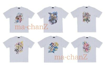Random 1 T-shirt collection Pokémon Trainers -Female characters- Pokemon Center