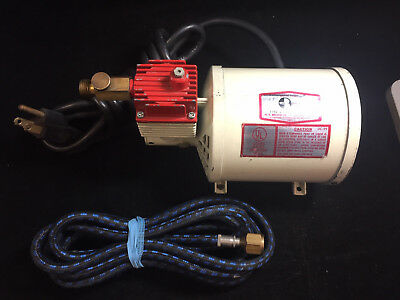 W.r. Brown Pc201 Airbrush Compressor With Hose
