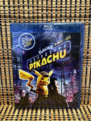 Pokemon Detective Pikachu (2-Disc Blu-ray/DVD, 2019)Ryan Reynolds/Justice Smith