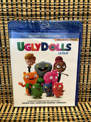 Ugly Dolls (2-Disc Blu-ray/DVD, 2019)Nick Jonas/Lizzo/Charlie XCX/Kelly Clarkson