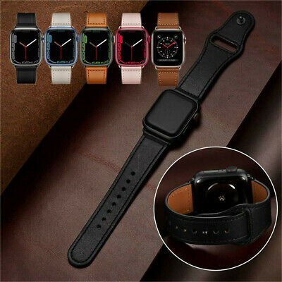 Genuine Leather iWatch Series 5 4 3 2 Strap for Apple Watch Band 40/44mm 38/42mm