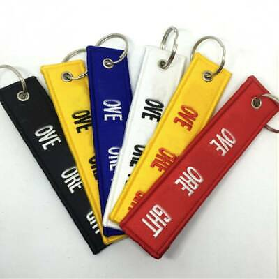 Hot Remove Before Flight Key Tag Ring Car Motorcycle Keyring Launch Key Chain