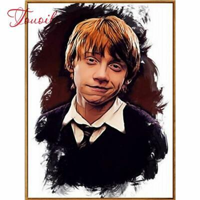 """5D DIY Diamond embroidery Painting Kits -Full Square / Round """"Ron Weasley"""""""
