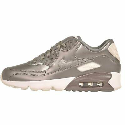 Nike Air Max 90 LTR SE GG GS Kids Youth Running Shoes Pewter NWOB 897987-005