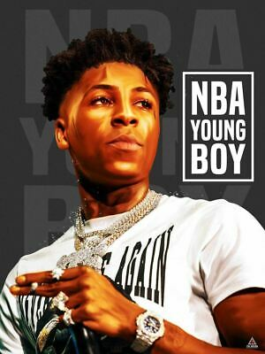 Art Poster 24x36 27x40 AI Youngboy Never Broke Again New Album T-1773