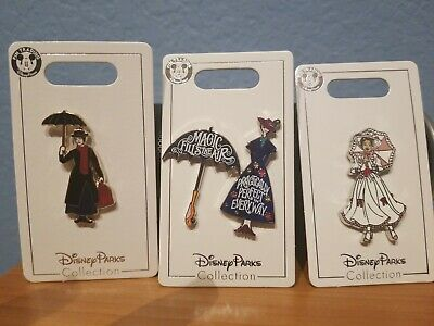 DISNEY PARKS Mary Poppins Return Practically Perfect in Everyway 3 pin set