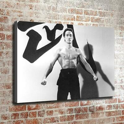"Brucelee Poster HD Canvas Prints Painting Home Decor Wall Art Picture 16""x24"""