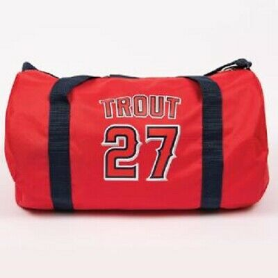 Mike Trout #27 LA Angels Duffle Bag 8/27/19 SGA Sponsored By: Timeless Skin Care