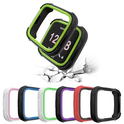 Soft TPU Silicone Shockproof Impact Resistant Frame Protector For Fitbit Versa