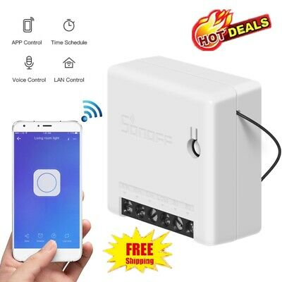 SONOFF MINI-Two Way DIY Smart Switch-APP Remote Control-for Alexa Google Home
