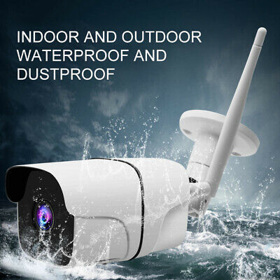 Wireless FHD 1080P WIFI IP Camera In/Outdoor Security IR CCTV Night Vision Q14