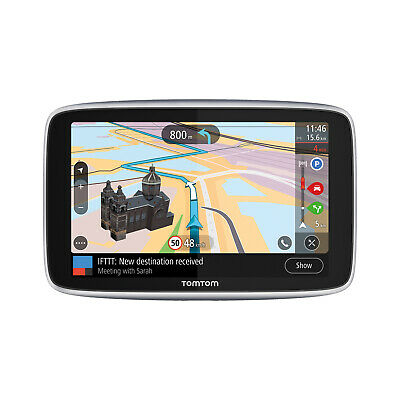 TomTom GO Premium 6 World - Navigationssystem - Lifetime Maps, Radarkameras + Tr