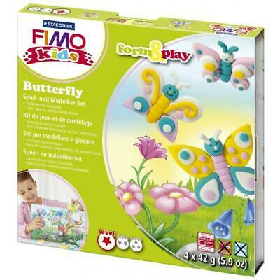 Modellierset Fimo Kids Butterf STAEDTLER 803410LY Form Play (4007817806180)