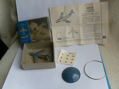 Wiking Flugzeug Silberling 1:200 Model MIG 15 RUSSIA+Box+Decals+Stand+BPZ RAR#2