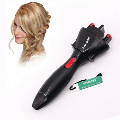 Electric Hair Braider Twist Plait Styling Braiding Machine Quick Braid Tool Hot
