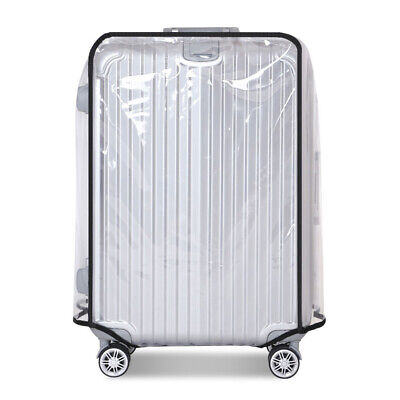PVC Transparent Dustproof Waterproof Rain Cover Protector for Luggage Suitcase