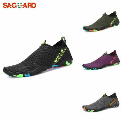 SAGUARO Men Women Water Shoes Surf Socks Aqua Diving Yoga Sport Swim Summer #A24