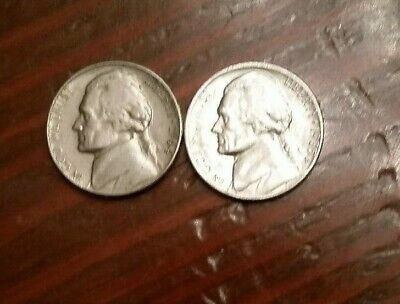USA 1964, 1985 Nickel 5 cents~ Two nice Nickles
