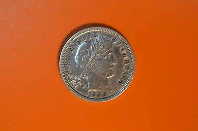 US 1 Dime Milled Silver Coin - 1900
