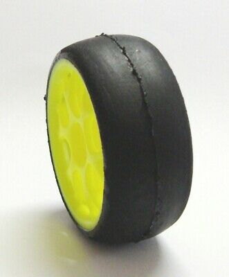 Tire Gomme for 1/10 Touring Slick AT Soft Compeition (2pcs.) Giallo  SP01350