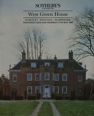 West Green House Hartley Wintney Hampshire Country House Sale Auction Catalogue