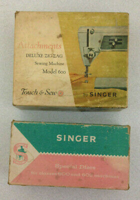 Vintage Singer Sewing Machine Special Disks And Accessories