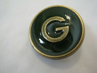 Gucci 1 button DARK GREEN,  G 20 mm  BUTTON THIS IS FOR ONE