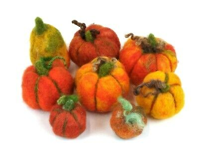 Needle Felting Kit by The Makerss - Pumpkin