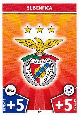Sl Benfica Team 2017-18 Topps Champions League Match Attax , Trading Card,# 199