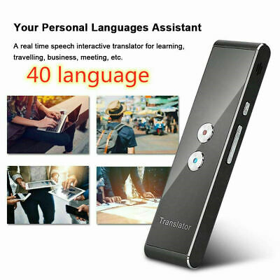 Translaty MUAMA Enence 40 Languages Smart Translator Instant Voice Photograph