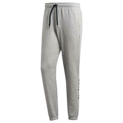 adidas Core Essentials Linear Mens Tracksuit Bottoms Gym Tapered Track Pants