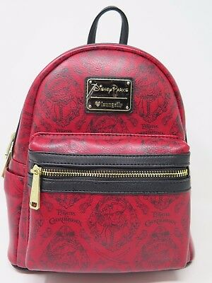 Disney Parks Loungefly Pirates of the Caribbean Redd Mini Backpack Redhead Red